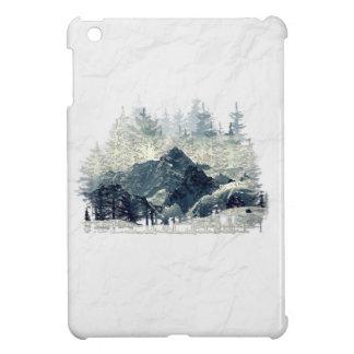 Coque Pour iPad Mini Forêt d'hiver