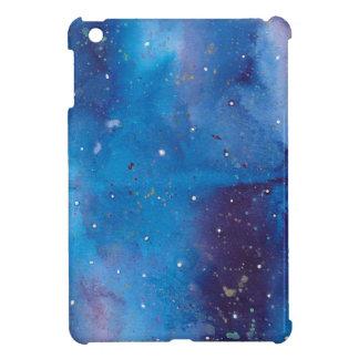 Coque Pour iPad Mini Galaxie bleu-foncé