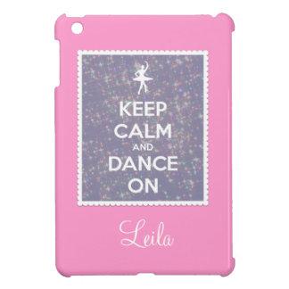 Coque Pour iPad Mini Gardez le calme et dansez sur la lavande Bokeh