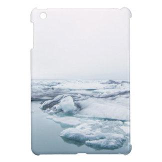 Coque Pour iPad Mini Glaciers de l'Islande - blanc