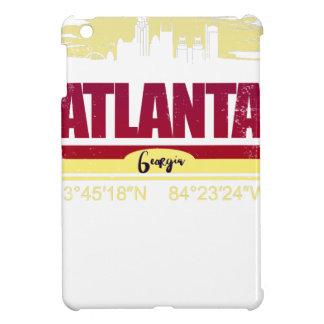 Coque Pour iPad Mini Horizon grunge d'Atlanta la Géorgie