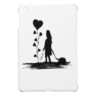 Coque Pour iPad Mini Illustration de concept d'amour d'encemencement