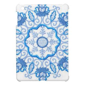 Coque Pour iPad Mini Image ronde de fleur