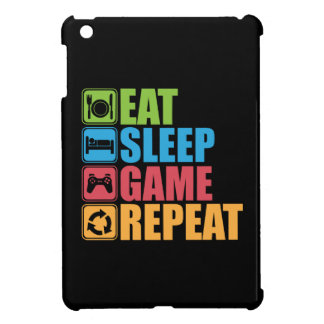 Coque Pour iPad Mini Jeu - mangez, dormez, jeu, répétition - Gamer,