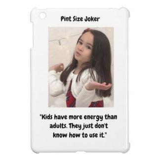 Coque Pour iPad Mini Joker de taille de pinte : Énergie d'enfant et