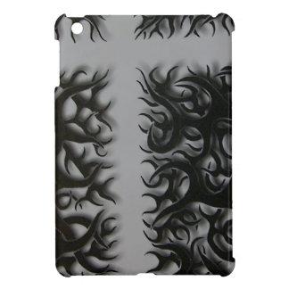 Coque Pour iPad Mini kreutz flame noirs
