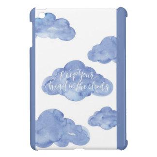 Coque Pour iPad Mini La tête dans les nuages enferment la mini caisse