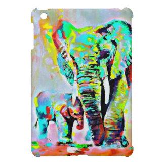 Coque Pour iPad Mini L'amour des éléphants