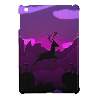 Coque Pour iPad Mini Les cerfs communs sautent à 2018