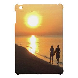 Coque Pour iPad Mini Lever de soleil de Bali sur la plage