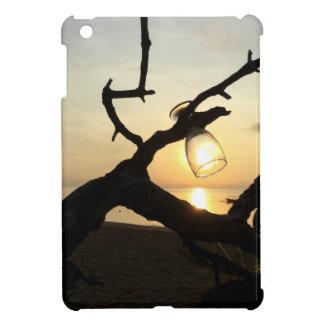 Coque Pour iPad Mini Lever de soleil sur la plage dans Bali