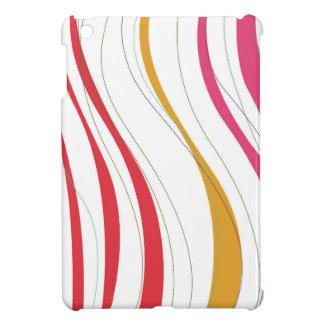 COQUE POUR iPad MINI LIGNES DE CONCEPTION SUR LE BLANC