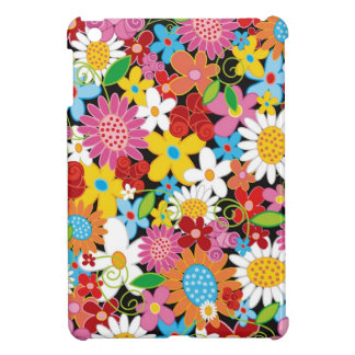 Coque Pour iPad Mini Mini cas de ressort de fleurs d'iPad lunatique de