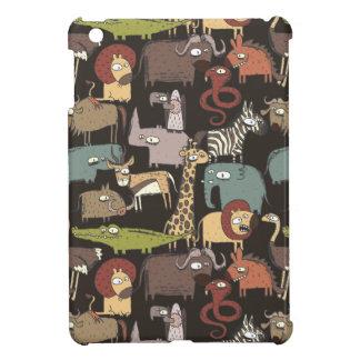 Coque Pour iPad Mini Motif africain d'animaux