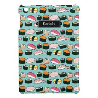 Coque Pour iPad Mini Motif illustré par amusement délicieux de sushi