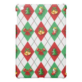 Coque Pour iPad Mini Noël, coloré, couleurs d'arc-en-ciel, avènement,