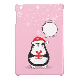 Coque Pour iPad Mini Noël, vacances, joie, couleurs vertes, décor
