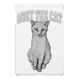 Coque Pour iPad Mini Obéissez le chat