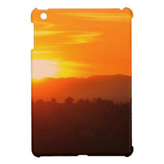 Coque Pour iPad Mini Orange orange Sun de ciel de Hollywood Los Angeles
