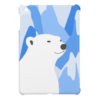 Coque Pour iPad Mini Ours blanc dans la conception froide