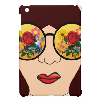 Coque Pour iPad Mini Regarder des fleurs