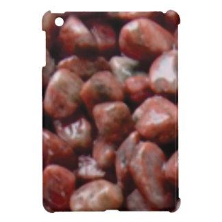 Coque Pour iPad Mini roche rouge lisse