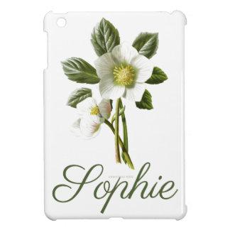 Coque Pour iPad Mini Rose de Noël vintage/victorien Personnalised