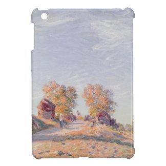 Coque Pour iPad Mini Route ascendante d'Alfred Sisley   en soleil