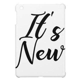 Coque Pour iPad Mini Son nouveau concept de typographie
