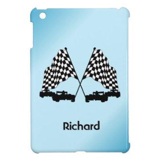 Coque Pour iPad Mini Sports de drapeau de voitures et de contrôleur de