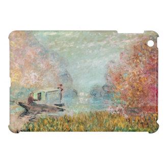 Coque Pour iPad Mini Studio de bateau de Claude Monet | sur la Seine