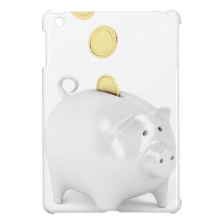 Coque Pour iPad Mini Tirelire avec les pièces de monnaie d'or