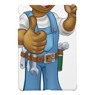 Coque Pour iPad Mini Tournevis noir de bricoleur d'électricien de bande