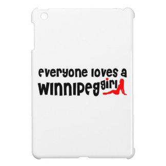 Coque Pour iPad Mini Tout le monde aime une fille de Winnipeg