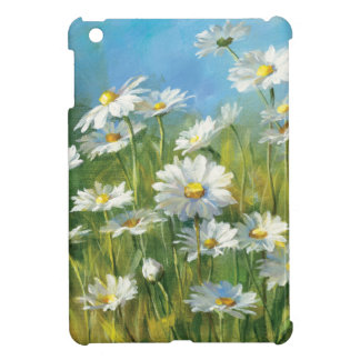 Coque Pour iPad Mini Un champ des marguerites blanches
