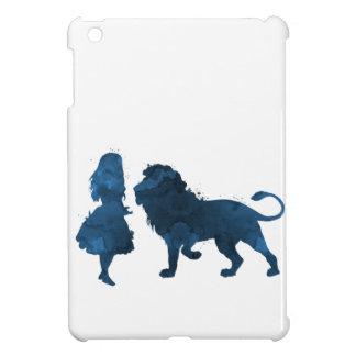 Coque Pour iPad Mini Une fille et un lion
