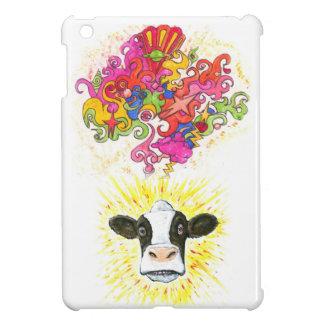 Coque Pour iPad Mini Vache psychédélique