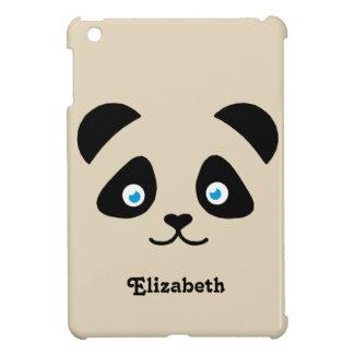 Coque Pour iPad Mini visage d'ours panda