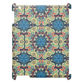 Coque Pour iPad Motif floral ethnique abstrait coloré De de