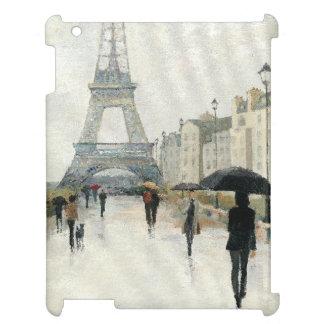 Coque Pour iPad Tour Eiffel   Paris sous la pluie