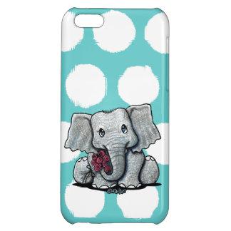 Coque Pour iPhone 5C Cas de l'iPhone 5C d'éléphant de KiniArt