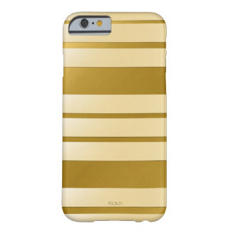 "Coque pour iPhone 6 GOLD décor ""Lignes"" Coque Barely There iPhone 6"