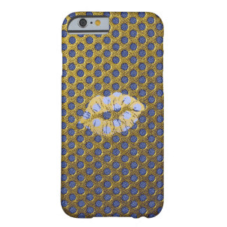 Coque pour iPhone 6 GOLD n' BLUE Coque iPhone 6 Barely There