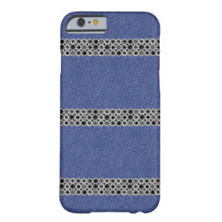 Coque pour iPhone 6 Jeans et métal Coque Barely There iPhone 6