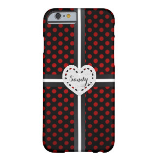"Coque pour iPhone 6 ""Joli Cœur"" Coque iPhone 6 Barely There"