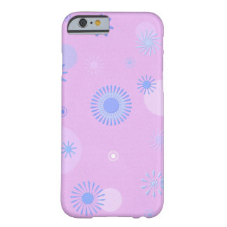 """Coque pour iPhone 6, Rose, décor """"Etoile"""" Coque Barely There iPhone 6"""