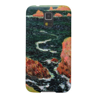 Coque Pour Samsung Galaxy S5 Belle Ile de Claude Monet |