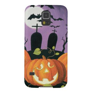 Coque Pour Samsung Galaxy S5 Chambre hantée par Halloween éffrayante