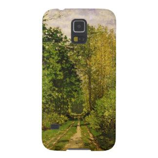 Coque Pour Samsung Galaxy S5 Chemin boisé de Claude Monet |