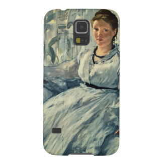Coque Pour Samsung Galaxy S5 Manet | lisant, 1865